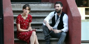 "Adam Levine and Keira Knightley star in ""Begin Again"""