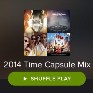 2014 Time Capsule Playlist