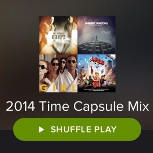 2014 Time Capsule Playlist