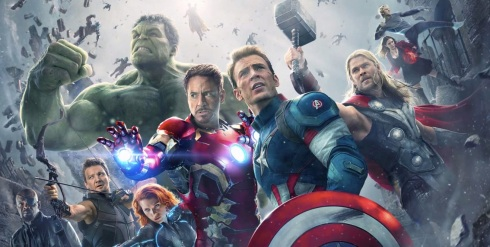 Avengers: Age of Ultron movie poster banner