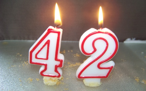 42 candles