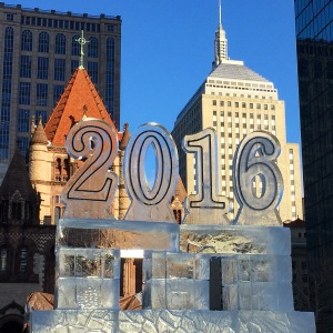 2016 ice sculpture