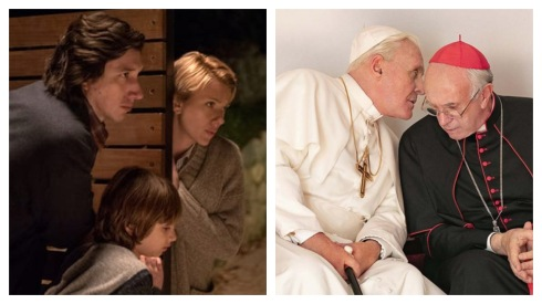 Marriage Story and Two Popes