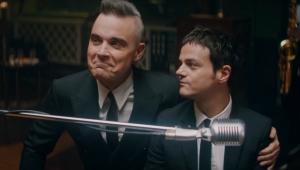 Robbie Williams and Jamie Cullum